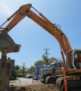 post-construction video bulldozer photo